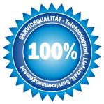 100% Servicequalität